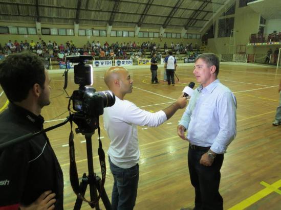 Copa TVTEM de Futsal- Abertura